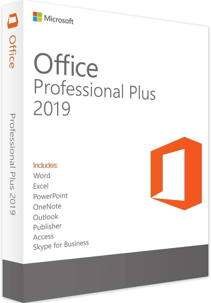 Office Professional 2019 1 PC (Lifetime, Download)
