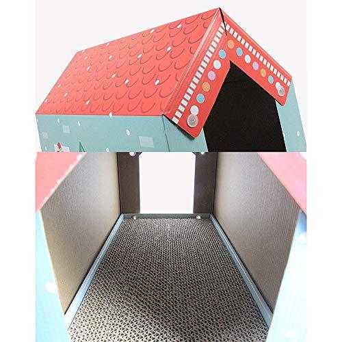alloet Corrugated Paper Cat Grab Board Wear-Resistant Cat House Grinder Kitten Toy by alloet (Image #3)