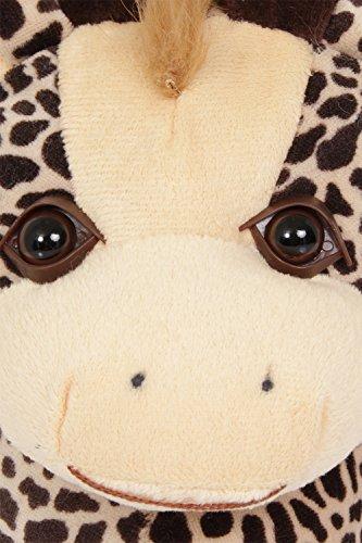 Dannii Matthews - Zapatillas de estar por casa para mujer jirafa