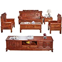 Antique Carved New Chinese economical Chunchun Sofa