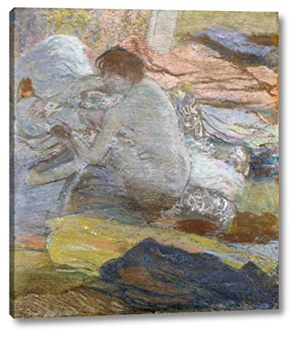 (Woman Wiping Her Feet by Edgar Degas - 17