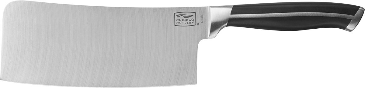 Chicago Cutlery Belmont Stainless Steel Cleaver (6-1/2 Inch)