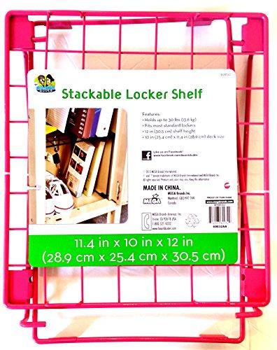 Stackable Locker Shelf (Hot Pink)