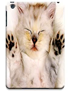 Sleep Cat hands up lovely cute design cell phone cases for Apple Accessories iPhone iPadmini iPad Mini