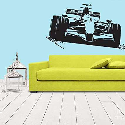 Wall vinyl sticker decals decor art bedroom formula 1 sport car racing z1118