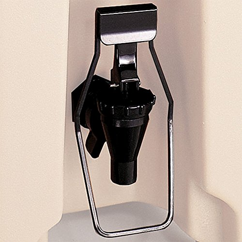 Cambro LCDES110 Black Easy Serve Dispenser For LCD and UC