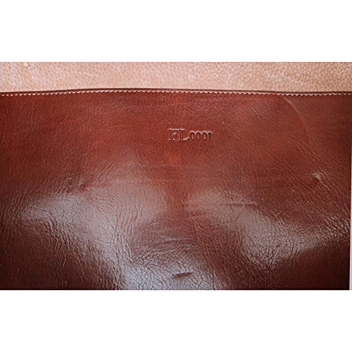 Super Tuscan Leather Duffle Travel Bag Model #1 by Floto (Image #4)