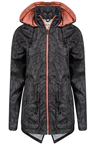 Ladies' Tokyo Laundry Jacket 3J9185A Dark Grey UK 14/US 12