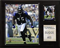 NFL Terrell Suggs Baltimore Ravens Player Plaque