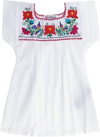 Mexican Clothing Co - Blusa mexicana ligera para niñas ...