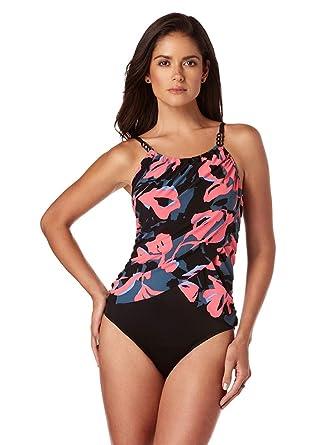770d13ac401 Magicsuit Women s Swimwear Flower Bomb Lisa High Neck Slimming One Piece  Swimsuit