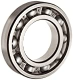 FAG 6203-C3 Deep Groove Ball Bearing, Single Row, Open, Steel Cage, C3 Clearance, Metric, Metric, 17mm ID, 40mm OD, 12mm Width, 22000rpm Maximum Rotational Speed, 1070lbf Static Load Capacity, 2150lbf Dynamic Load Capacity