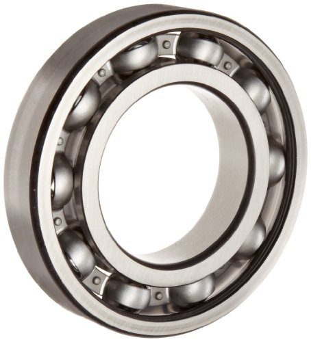 FAG 6207-C3 Deep Groove Ball Bearing, Single Row, Open, Steel Cage, C3 Clearance, Metric, 35mm ID, 72mm OD, 17mm Width, 24000rpm Maximum Rotational Speed, 3440lbf Static Load Capacity, 5730lbf Dynamic Load Capacity