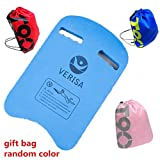 VERISA Kids & Adults Swimming Kickboard Swim Pool Float Floating Buoy Hand Board Tool Foam with Drawstring Backpack Sport Bag (U shape)