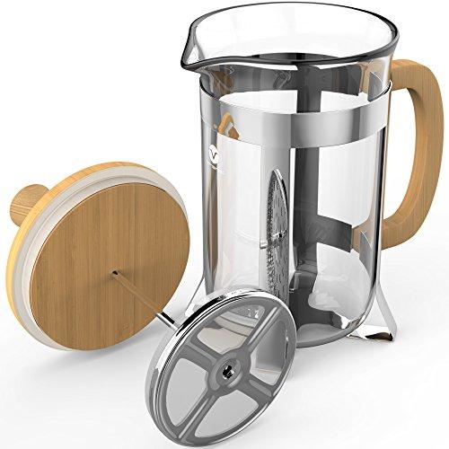 Vremi French Press 8 Cup Coffee Maker In Premium Heat
