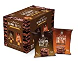 Brownie Brittle, 1 Ounce, Chocolate Chip Variety Pack (120 calories per ounce), 20 Count