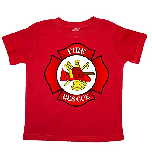 Firefighter Maltese Cross - inktastic - Maltese Cross Firefighter Toddler T-Shirt 4T Red