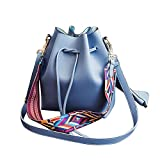 Marterial:High Quality PU Leather Size:21*26*11cm / 8.3*10.2*4.3inch (approx)(Length*Wide*Height) It has many colors, which is beautiful and seems well-made. Freely adjustable shoulder strap buckle, you can adjust it according to your height and comf...