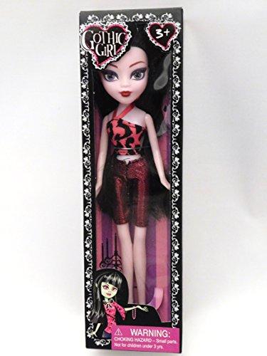 Gothic Girl Doll - 9