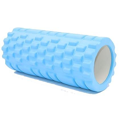 Rodillo de espuma para el masaje muscular del tejido ...