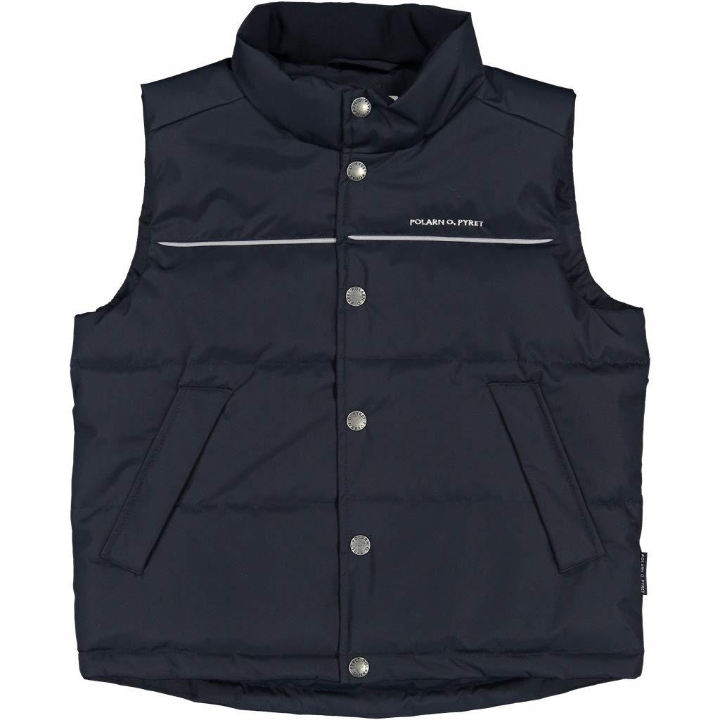 Polarn O. Pyret Versatile Puffer Vest (1-2YRS) - 1.5-2 Years/Dark Sapphire by Polarn O. Pyret