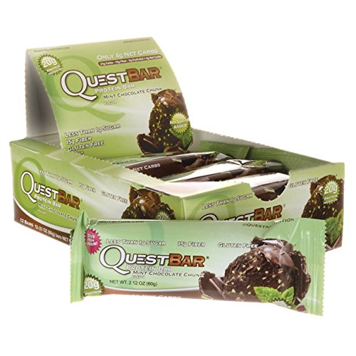 Quest Nutrition Quest Protein Bar Mint Chocolate Chunk-12 per Box