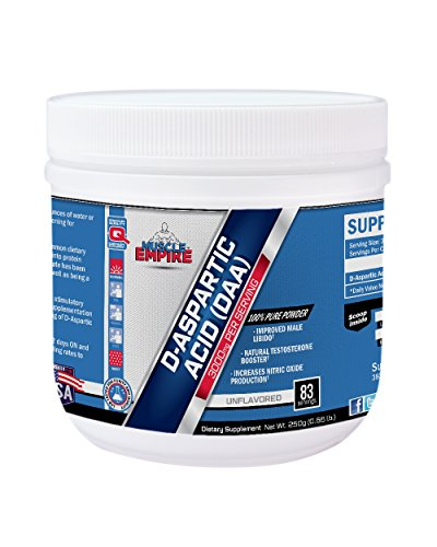 D-Aspartic Acid (DAA) Powder (250 Grams) - Muscle Empire Supplements by Muscle Empire