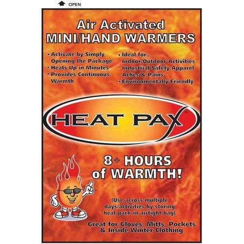 TechNiche HEAT PAX 8+ HOUR HAND WARMERS - 10 PAIR PACK