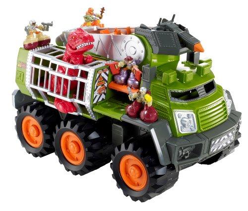 Dinosaurs Mdf Toy Box Childrens Storage Toys Games Books: Matchbox Big Boots Dino Adventure Squad Vehicle