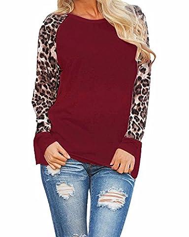 Forlisea Womens Stripe Pattern Short Sleeve Casual T Shirt Tops - Casual Stripe Pattern Shirts