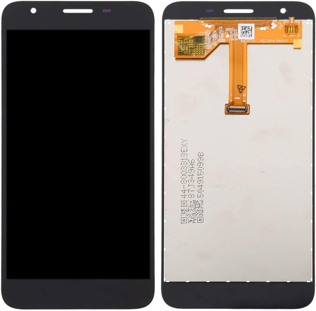 A260G//DS GuiPing Incell LCD Screen and Digitizer Full Assembly for Galaxy A2 Core A260F//DS Black Color : Black Durable