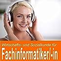 Wirtschafts- und Sozialkunde für Fachinformatiker / Fachinformatikerin Hörbuch von Ben Reichgruen Gesprochen von: Daniel Wandelt