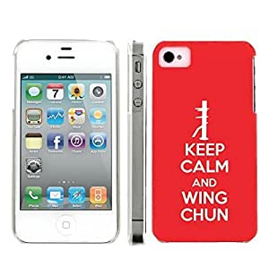 Mobiflare Apple iphone 5c Keep Calm and Wing Chun Snap On Protective Artistry Design Case