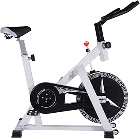 Bicicleta estática, bicicleta spinning de transmisión cinturón ...