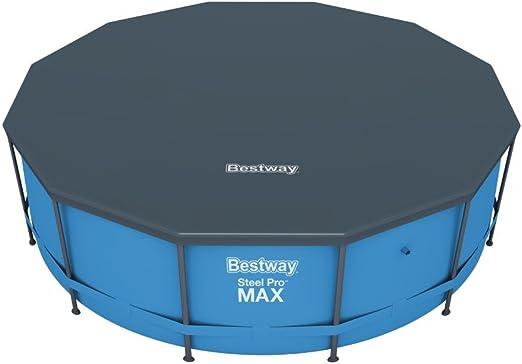 Bestway 58037 - Cobertor Protector de PVC para piscinas Steel Pro ...