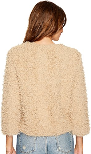BB Dakota Women's Macy Fuax Fur Zip up Jacket