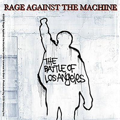 Rage Against The Machine Battle Of L.A. Sticker