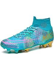 Xinghuanhua Voetbalschoenen heren High Top Spikes jeugd trainingsschoenen professionele outdoor voetbalschoenen mannen voetbalschoenen unisex