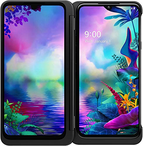 LG G8X ThinQ Dual Screen Unlocked CDMA GSM Cell Phone – 6.4″ FHD+ OLED Display 2340 x 1080, Snapdragon 855 Octa-core, 6GB RAM 128GB US Warranty (Universal Compatible)