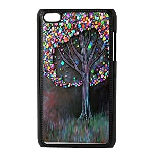 High Quality Phone Back Case Pattern Design 9Love Tree Pattern- FOR IPod Touch 4th