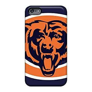 Excellent Hard Phone Covers For Apple Iphone 6s Plus (boA617raHf) Customized Lifelike Chicago Bears Skin