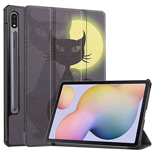 Ratesell Case Cover with Auto Wake Sleep for Samsung Galaxy Tab S7 11 Inches SM-T870, SM-T875 Cat