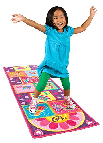 Hopscotch Game Rug (ALEX Toys Active Play Hopscotch Rug)