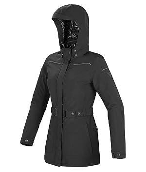 Chaqueta impermeable para mujer de moto scooter de Gore-Tex Eleonore Dainese 40 negro
