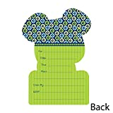 Boy Puppy Dog - Shaped Fill-In Invitations - Baby