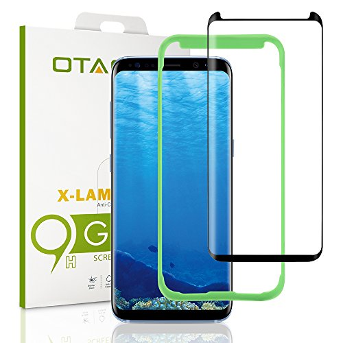 Price comparison product image [Tray Installation]Samsung Galaxy S8 Plus Screen Protector, Otao [Case-friendly] Tempered Glass Screen Protector with Positioner for Galaxy S8 Plus