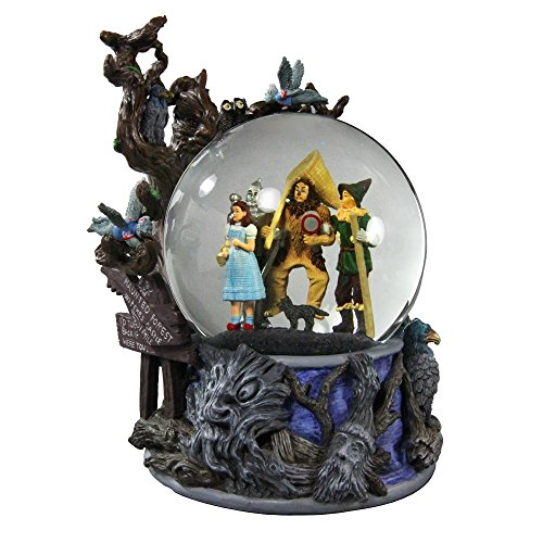 Wizard of Oz Haunted Forest Water Globe San Francisco Music Box Company -