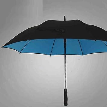 Paraguas doble paraguas Resistencia al viento paraguas grande Mujer paraguas doble Long Mango hombres grandes tres
