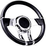 Flaming River FR20150 Black Waterfall Steering Wheel