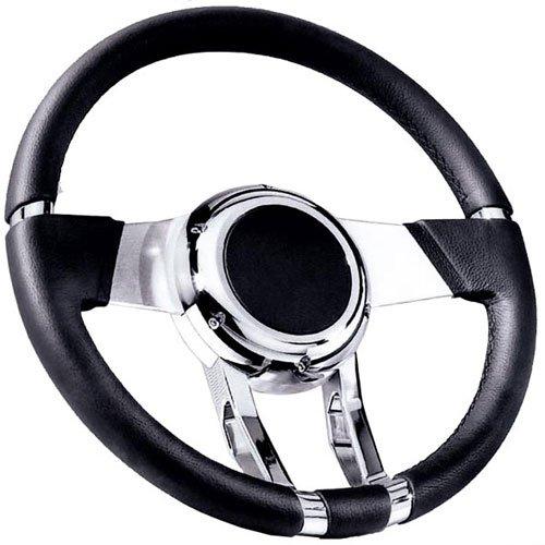 Flaming River FR20150 Black Waterfall Steering Wheel by Flaming River